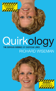 Quirkology - features a chapter on our infrasound experiment