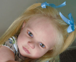 From the uncanny valley - a 'reborn doll'