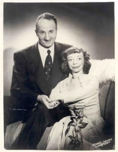 ventriloquist with doll