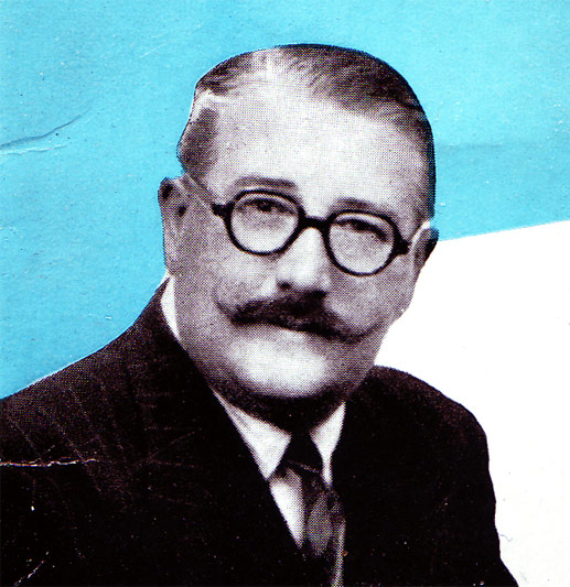 Raymond Glendenning (close-up)