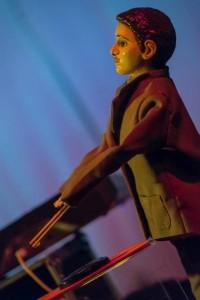 Wolfgang, Sarah Angliss' robot drummer (photo Agata Urbaniak)