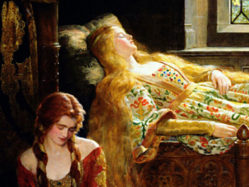 The Sleeping Beauty (John Maler Collier, 1921)