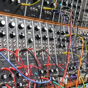 In the Moog Lab - Sarah Anglis