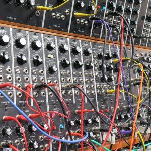 In the Moog Lab - Sarah Anglis