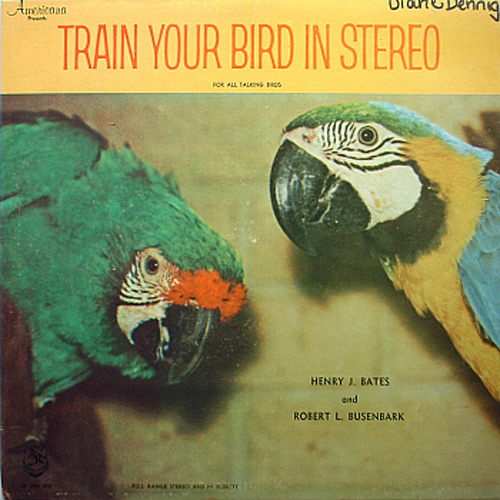 Record cover: train your bird in stereo