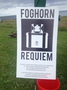 Foghorn requiem - poster.