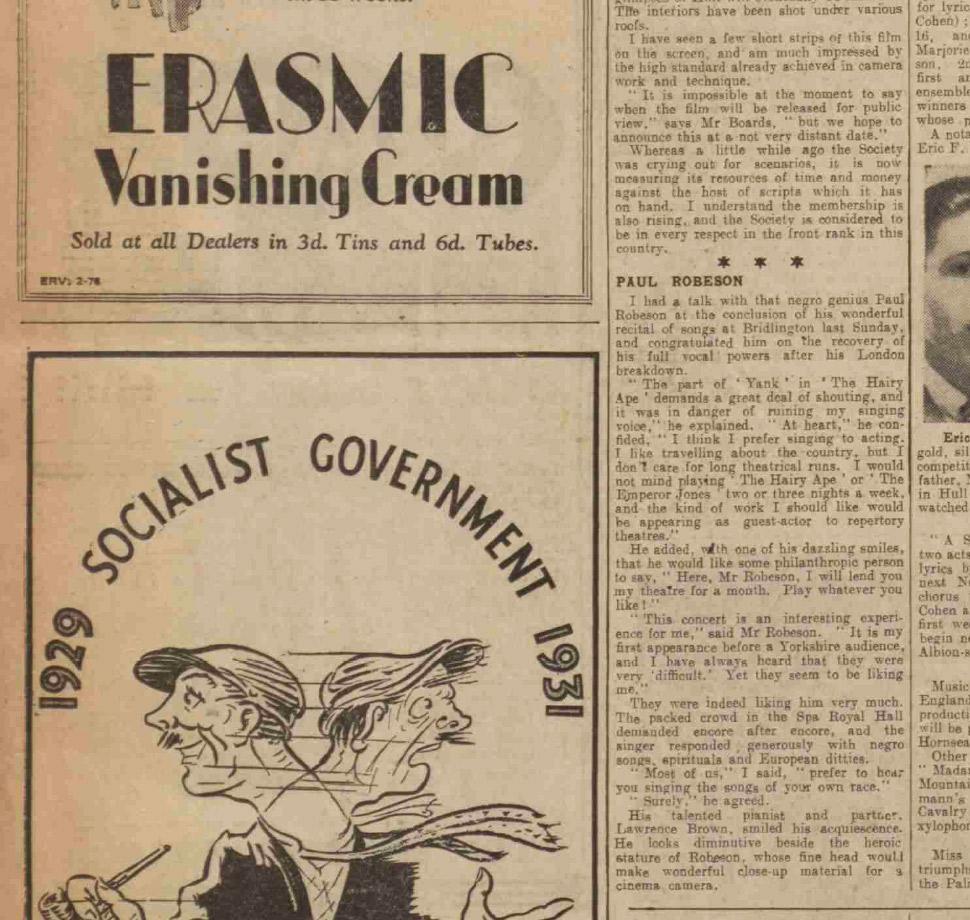 Hull Daily Mail, Friday 10 July 1931
