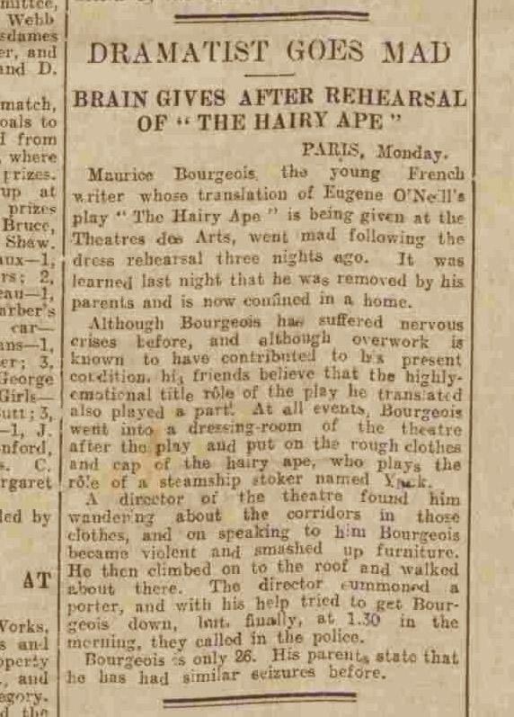 Western Morning News, 24 September 1929