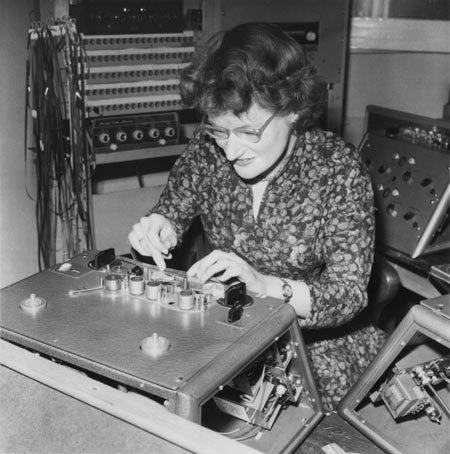 Daphne Oram splicing tape