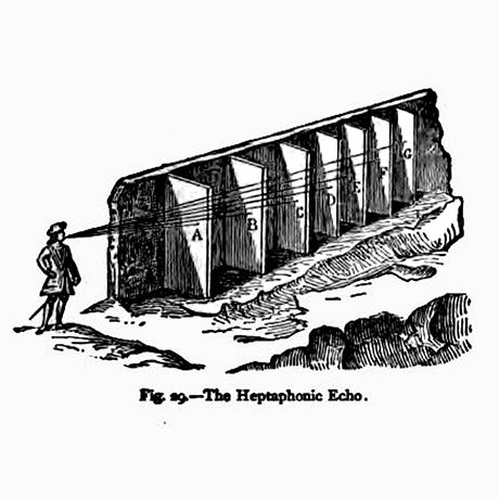The heptaphonic echo